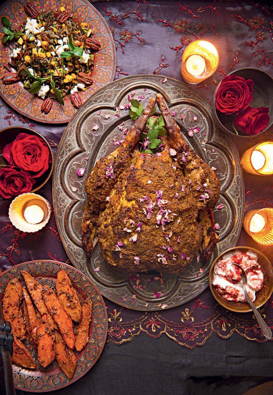 Tacchino arrosto con spezie persiane Chef Anna Hansen