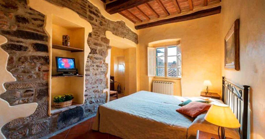 Hotel Italia Cortona Camera