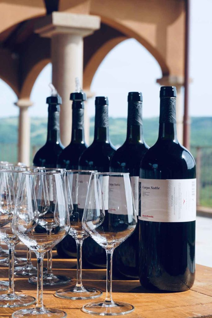 I vini della cantina Monterosola