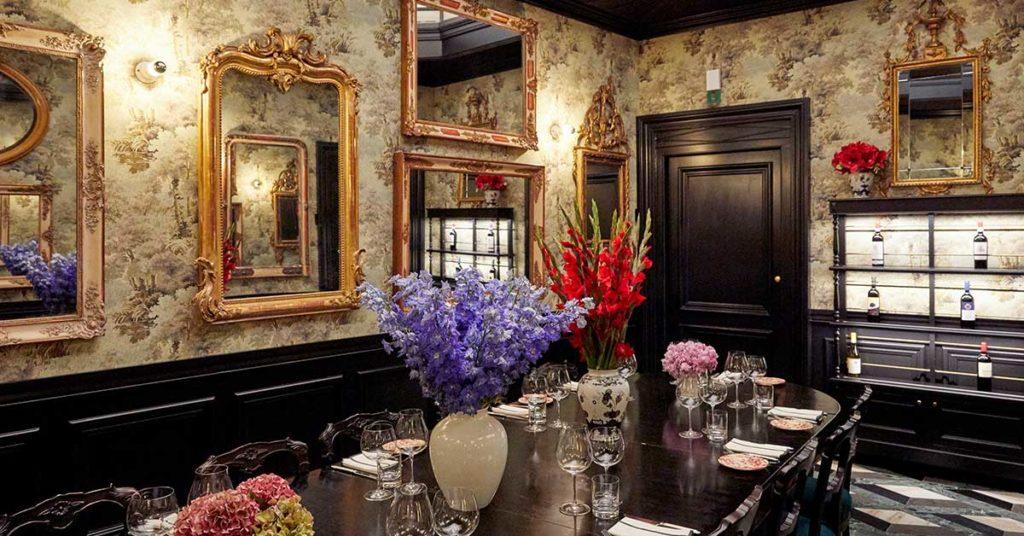 La sala degli specchi Gucci Osteria
