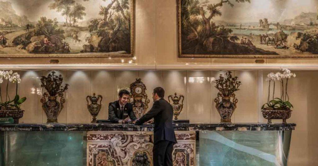 Rome Cavalieri concierge