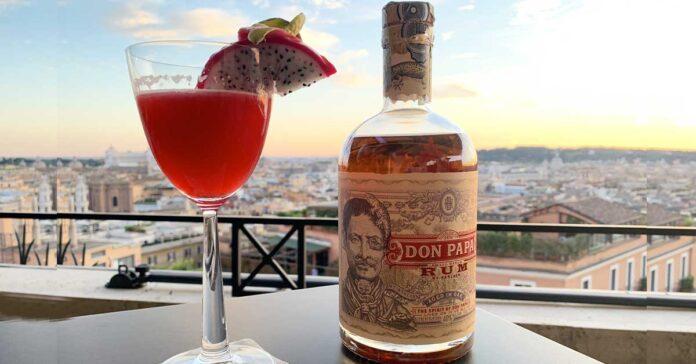 Drink The Antidote di Stefano Santucci head barman dell'Hotel Hassler di Roma