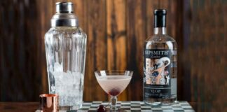 Drink Aviation con Sipsmith Gin