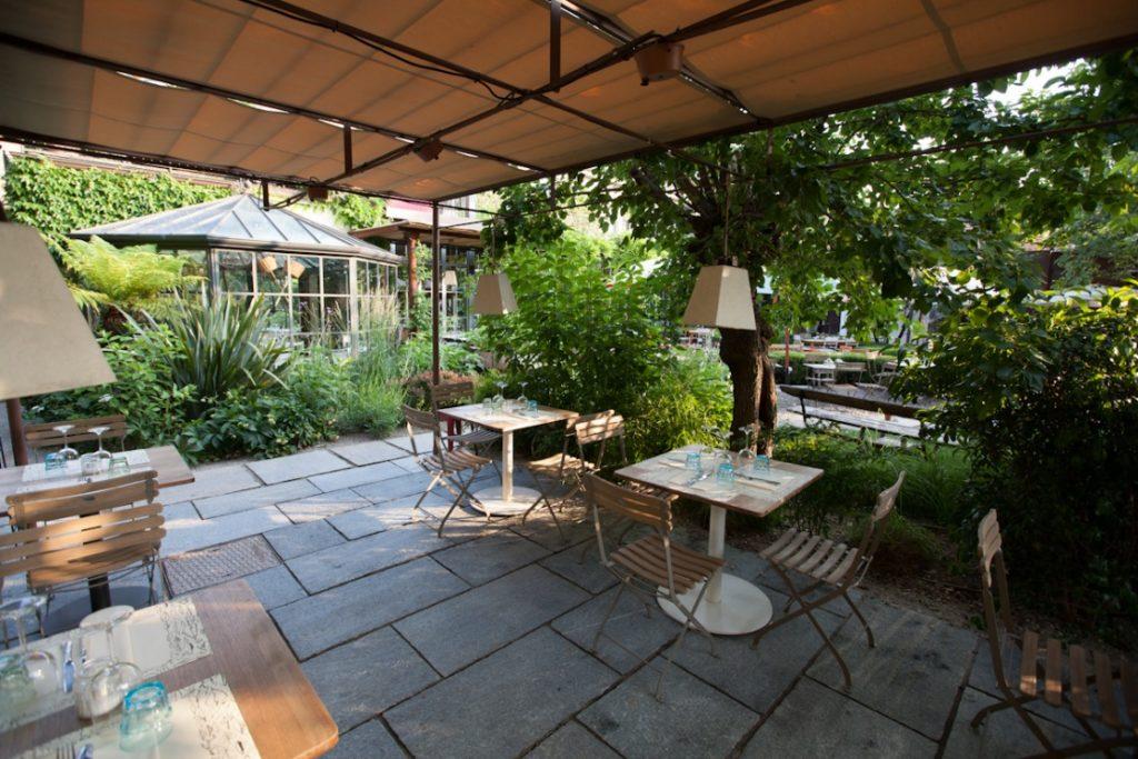 Il ristorante 39 alfresco 39 apre a milano chef nicola for Il giardino milano ristorante