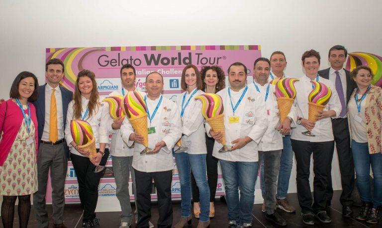 Alessandro Crispini vince la seconda edizione del 'Gelato World Tour' con un superlativo gusto 'Pistacchio'