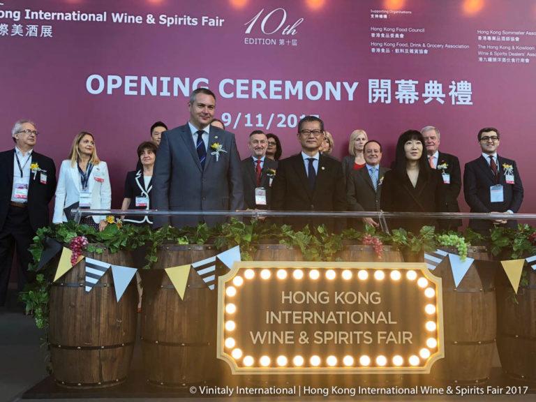 Cresce la voglia di vino italiano a Hong Kong