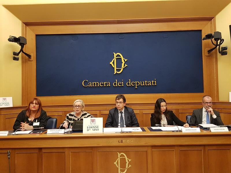 39 donne del vino 39 in parlamento per diventare wine manager for Camera dei deputati rassegna
