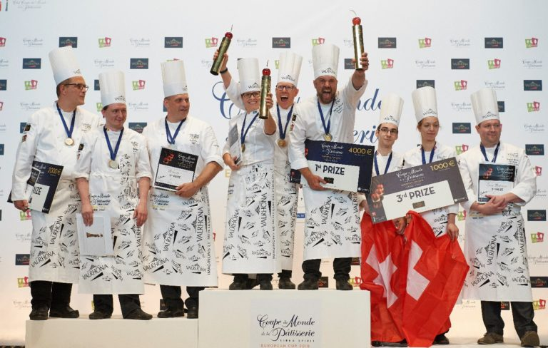 La Svezia vince la Coppa Europea della Pasticceria a Torino