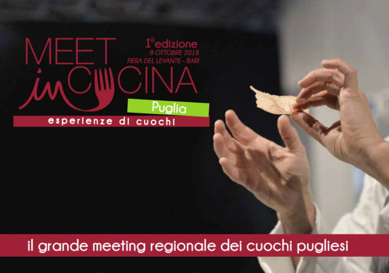 'Meet in Cucina Puglia' prima edizione