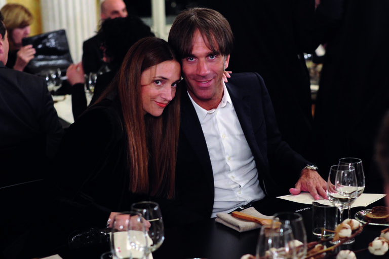 Davide Oldani ed Evelina Rolandi