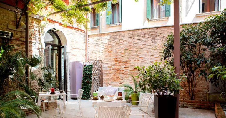 Corte di Gabriela, una casa veneziana