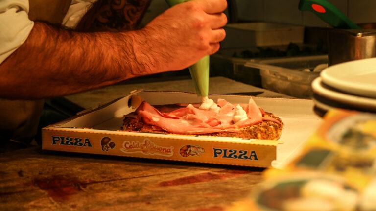 Via Emilia, pizza gastronomica