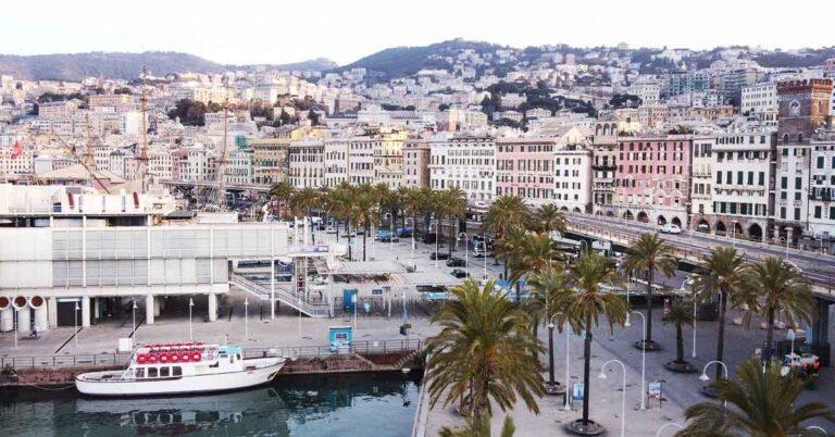 A Genova il caffè Segafredo si riempie di vento e libertà