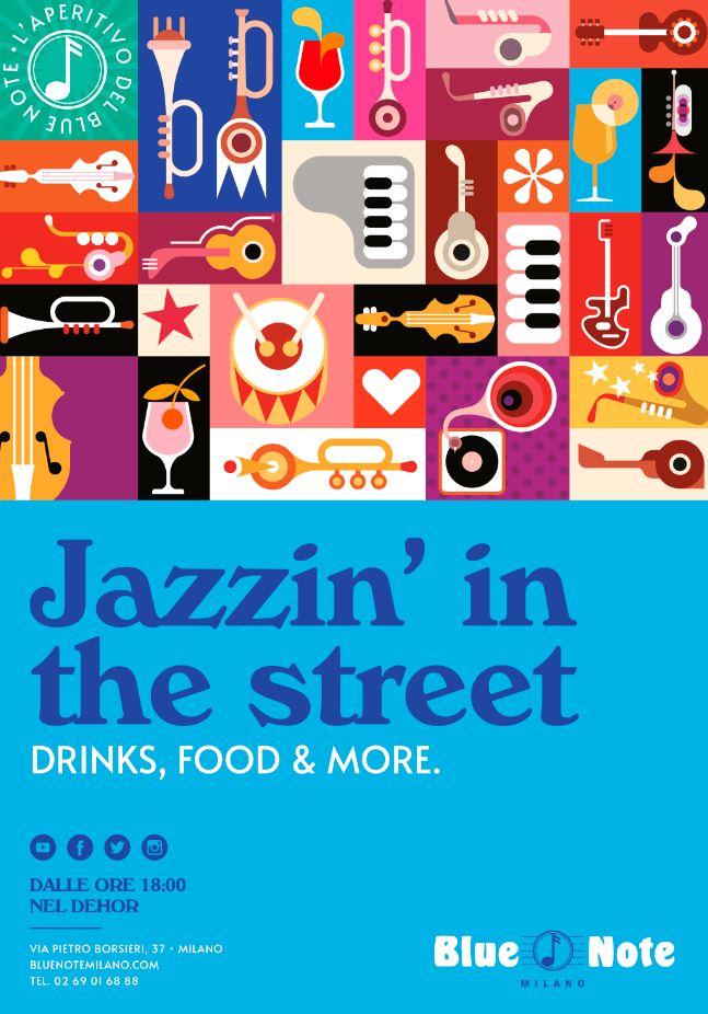 Locandina Jazzin' in the Street_Blue Note Milano