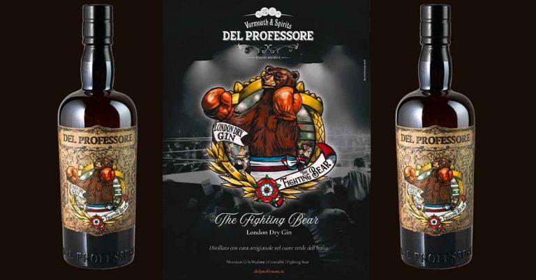 Nasce The Fighting Bear, il primo London Dry Gin firmato Del Professore