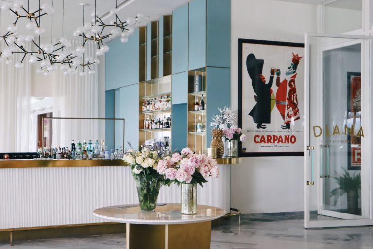 Bollinger incontra la lounge bar del Diana Grand Hotel