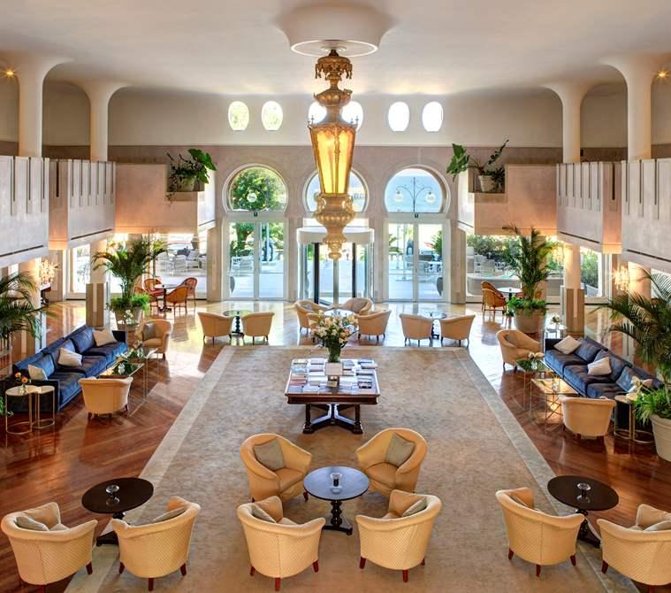 Hall dell' Hotel Excelsior Venice Lido Resort