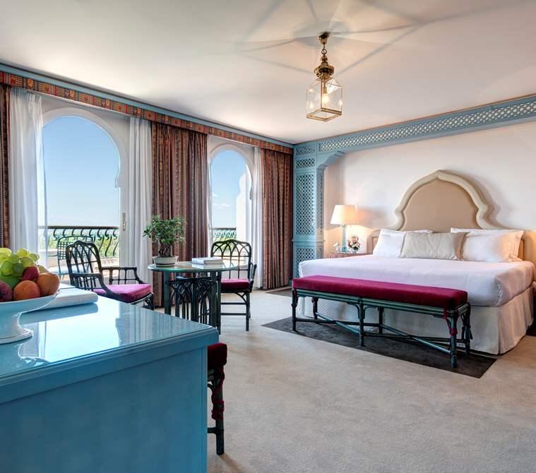 Una camera del Hotel Excelsior Venice Lido Resort