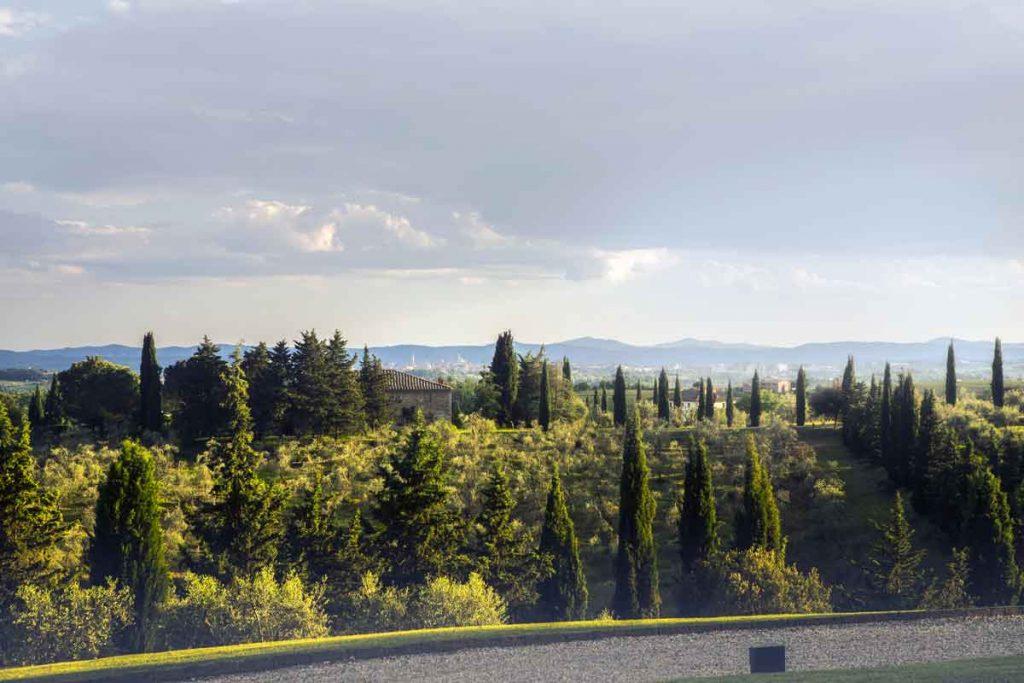 Siena dal Borgo Scopeto Relais